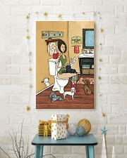 POOPIN WITH POODLES POSTER 11x17 Poster lifestyle-holiday-poster-3