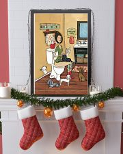 POOPIN WITH POODLES POSTER 11x17 Poster lifestyle-holiday-poster-4