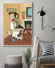 POOPIN WITH POODLES POSTER 11x17 Poster lifestyle-poster-1