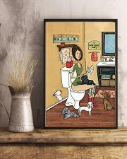 POOPIN WITH POODLES POSTER 11x17 Poster lifestyle-poster-3