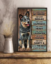 HE'S NOT JUST MY HEELER 11x17 Poster lifestyle-poster-3