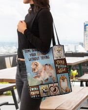 POMERANIAN BAG All-over Tote aos-all-over-tote-lifestyle-front-04
