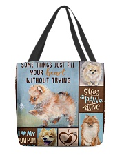 POMERANIAN BAG All-over Tote front