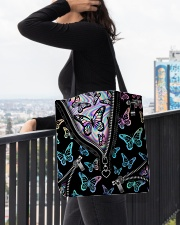 BUTTERFLY BAG All-over Tote aos-all-over-tote-lifestyle-front-05