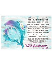 DOLPHIN - WHEN I SAY I LOVE YOU MORE 17x11 Poster front