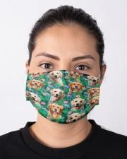 Golden Retriever Cloth face mask aos-face-mask-lifestyle-01