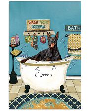 PERSONALIZED DOBERMAN POSTER 11x17 Poster front