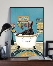 PERSONALIZED DOBERMAN POSTER 11x17 Poster lifestyle-poster-2