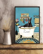 PERSONALIZED DOBERMAN POSTER 11x17 Poster lifestyle-poster-3