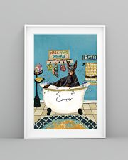 PERSONALIZED DOBERMAN POSTER 11x17 Poster lifestyle-poster-5