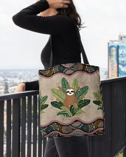 SLOTH BAG All-over Tote aos-all-over-tote-lifestyle-front-05