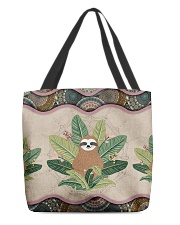 SLOTH BAG All-over Tote back
