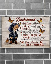 DACHSHUND HERITAGE OF LOVE POSTER 17x11 Poster poster-landscape-17x11-lifestyle-18