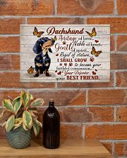 DACHSHUND HERITAGE OF LOVE POSTER 17x11 Poster poster-landscape-17x11-lifestyle-23