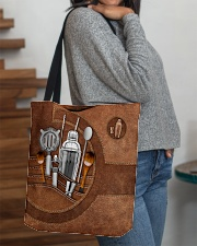 BARTENDER CLOTH TOTE-ACCESSORY POUCH-PILLOW All-over Tote aos-all-over-tote-lifestyle-front-09