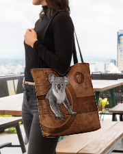 KOALA BAG-ACCESSORY POUCH-PILLOW All-over Tote aos-all-over-tote-lifestyle-front-04