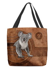 KOALA BAG-ACCESSORY POUCH-PILLOW All-over Tote front