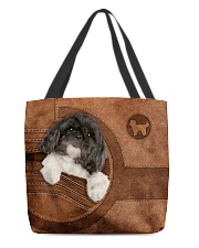 SHIH-TZU BAG-ACCESSORY POUCH-PILLOW All-over Tote back