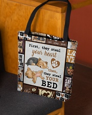 YORKSHIRE TERRIER BAG All-over Tote aos-all-over-tote-lifestyle-front-02