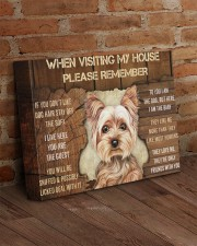 YORKSHIRE TERRIER CANVAS 14x11 Gallery Wrapped Canvas Prints aos-canvas-pgw-14x11-lifestyle-front-09