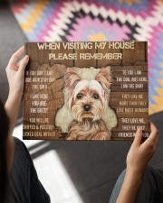 YORKSHIRE TERRIER CANVAS 14x11 Gallery Wrapped Canvas Prints aos-canvas-pgw-14x11-lifestyle-front-24
