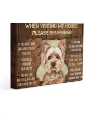 YORKSHIRE TERRIER CANVAS 14x11 Gallery Wrapped Canvas Prints front