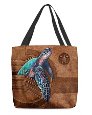 TURTLE CLOTH TOTE-ACCESSORY POUCH-PILLOW All-over Tote back