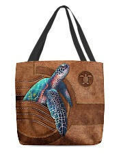 TURTLE CLOTH TOTE-ACCESSORY POUCH-PILLOW All-over Tote front