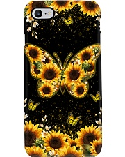 BUTTERFLY AND SUNFLOWER PHONE CASE Phone Case i-phone-8-case