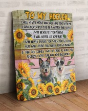 HEELER - CANVAS TO MY HEELER 11x14 Gallery Wrapped Canvas Prints aos-canvas-pgw-11x14-lifestyle-front-07