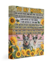 HEELER - CANVAS TO MY HEELER 11x14 Gallery Wrapped Canvas Prints front