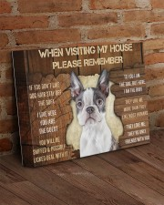 BOSTON TERRIER CANVAS 14x11 Gallery Wrapped Canvas Prints aos-canvas-pgw-14x11-lifestyle-front-09