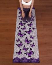 BUTTERFLY YOGA MAT Yoga Mat 24x70 (vertical) aos-yoga-mat-lifestyle-24