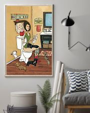 POOPIN WITH DACHSHUND POSTER 11x17 Poster lifestyle-poster-1