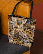 YORKSHIRE TERRIERS BAG All-over Tote aos-all-over-tote-lifestyle-front-02