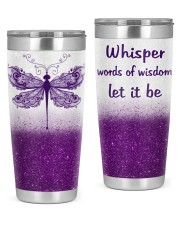 WHISPER WORDS OF WISDOM  20oz Tumbler front