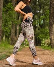 YORKSHIRE TERRIER  LEGGING High Waist Leggings aos-high-waist-leggings-lifestyle-20