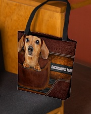 DACHSHUND MAMA CLOTH BAG All-over Tote aos-all-over-tote-lifestyle-front-02