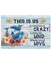 DOLPHIN - THIS IS US 17x11 Poster front