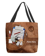 PHARMACY BAG-ACCESSORY POUCH-PILLOW All-over Tote front