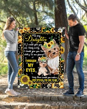 """TO MY DAUGHTER QUILT Quilt 40""""x50"""" - Baby aos-quilt-40x50-lifestyle-front-02"""