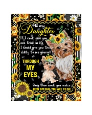 """TO MY DAUGHTER QUILT Quilt 40""""x50"""" - Baby front"""