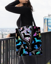 DACHSHUND BAG All-over Tote aos-all-over-tote-lifestyle-front-05