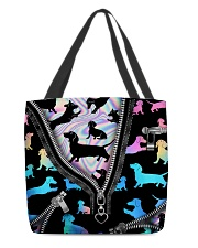 DACHSHUND BAG All-over Tote front