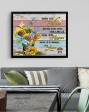 DRAGONFLY CANVAS - WHEN YOU BELIEVE 14x11 Black Floating Framed Canvas Prints aos-floating-framed-canvas-pgw-14x11-black-lifestyle-front-02