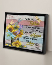 DRAGONFLY CANVAS - WHEN YOU BELIEVE 14x11 Black Floating Framed Canvas Prints aos-floating-framed-canvas-pgw-14x11-black-lifestyle-front-06