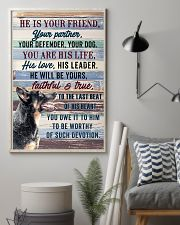 HEELER - HE IS YOUR FRIEND 11x17 Poster lifestyle-poster-1
