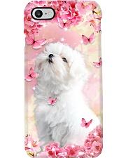 MALTESE FLOWER PHONE CASE Phone Case i-phone-8-case