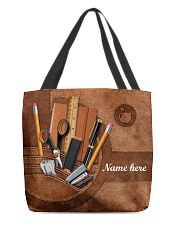 TEACHER BAG-ACCESSORY POUCH-PILLOW All-over Tote front