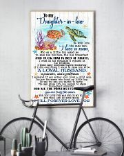 TO MY DAUGHTER-IN-LAW 11x17 Poster lifestyle-poster-7